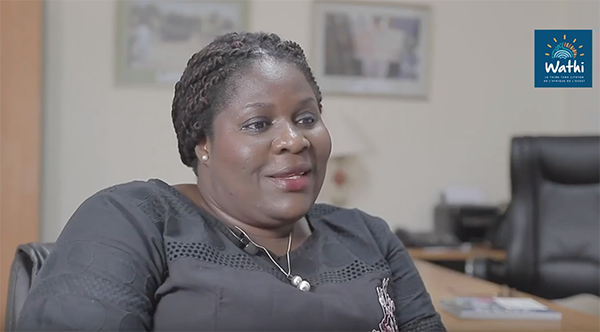 Fatou Jagne Senghor est la directrice régionale de l'ONG