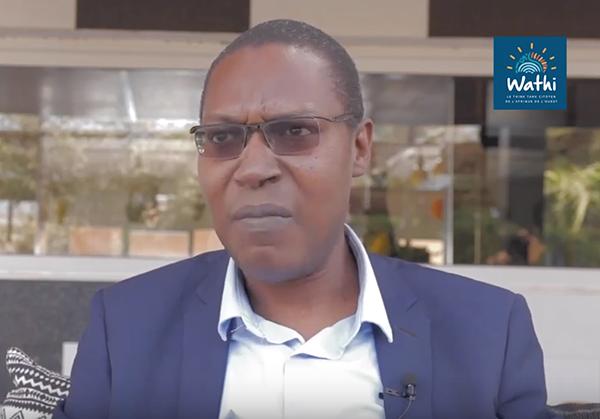 Ousmane Khouma est maître de conférences à la faculté des sciences juridique et politique à l'université Cheikh Anta Diop de Dakar.