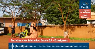 Mamadou Sanou Ba, Enseignant:«Les femmes veulent souvent travailler mais elles sont retenues dans le foyer par leurs maris qui ne leur laissent pas le choix»