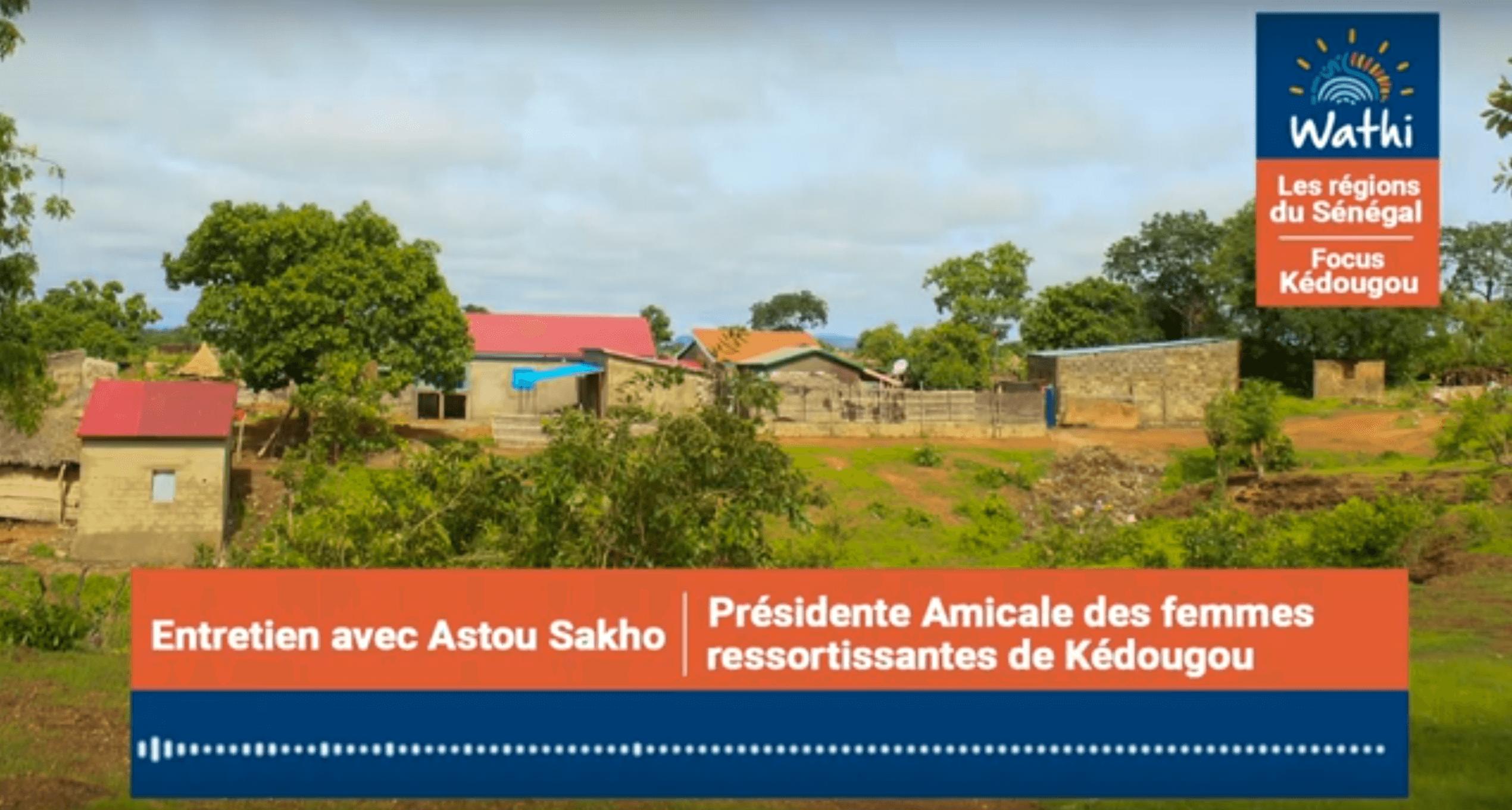Astou Sakho, Présidente d'association de femmes:«Si on investissait à Kédougou la même somme qu'à Diamniadio, alors la région se développerait»