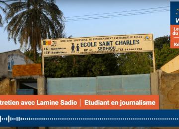 Mamadou Lamine Sadio, Etudiant en journalisme:«La principale préoccupation des jeunes à Sédhiou est de combattre la pauvreté dans la région»