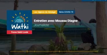 Moussa Diagne, Journaliste:«A Saint-Louis, les licences de pêche pour naviguer en zone maritime mauritanienne sont bloquées»