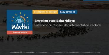 Baba Ndiaye, Président Conseil départemental:«Le combat contre le coronavirus doit être gagné au niveau local»