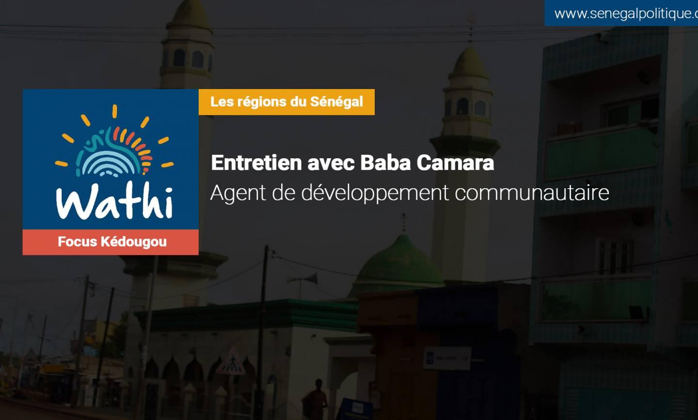Baba Camara, Agent de développement communautaire: «La commune de Kédougou n'a pas de services d'assainissement»