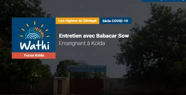 Babacar Sow, Enseignant:«Il faut décréter une année blanche. Il y va de l'intérêt de l'école sénégalaise.»