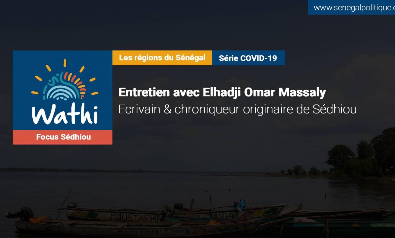El Hadji Omar Massaly, Écrivain:«Les autorités politiques ne viennent plus à Manconomba parce qu'il y a la pandémie dans notre communauté»