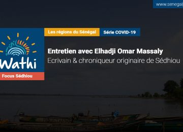 El Hadji Omar Massaly, Écrivain:«Les autorités politiques ne viennent plus à Manconomba parce qu'il y a la pandémie dans notre communauté.»
