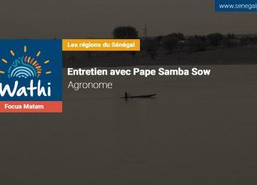 Pape Samba Sow, Agronome:«Avec l'avancée du désert, si rien n'est fait d'ici 30 ans, la région de Matam sera invivable»