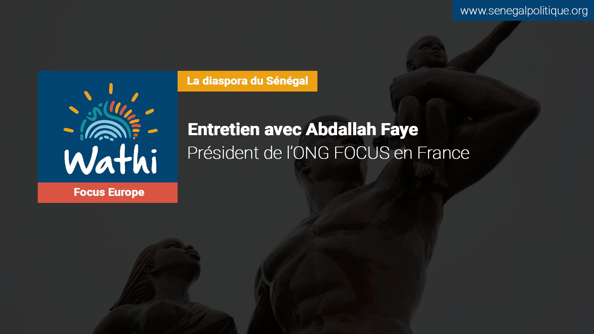 Abdallah Faye, président de l'ONG Focus en France:«L'effort d'une aide pour la diaspora est à saluer mais sa gestion n'a pas du tout été efficace»