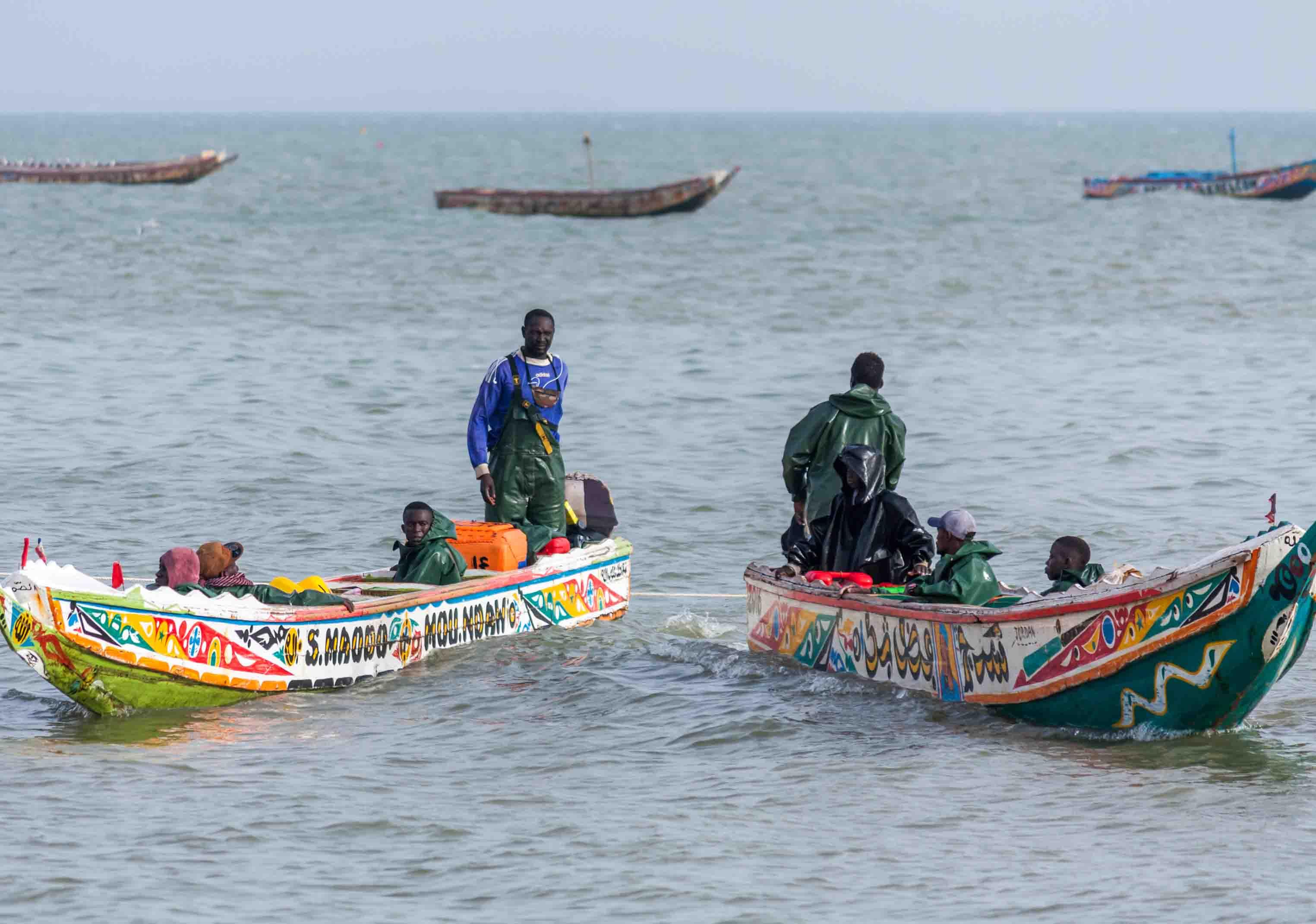 Ici, s'il n'y a pas de pêche, Mbour ne vit pas. Toute l'économie démarre par la pêche. Lorsqu'il y a beaucoup de poissons, la ville bouge. Les chauffeurs de taxi, les restaurants...